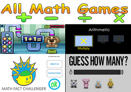 All Math Games - Math facts