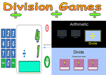 Division Math Games - Math Facts