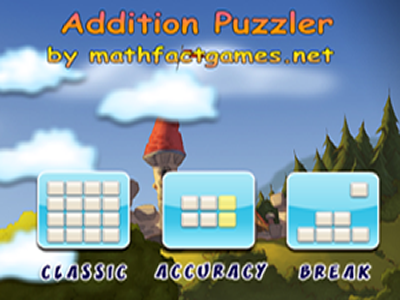 Addition Puzzler Math Game